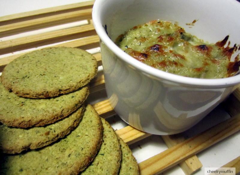 Crema aperitiva de alcachofa y queso Gorgonzola